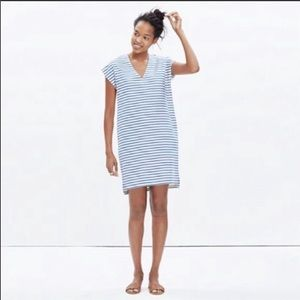 Madewell Vacances Summer Striped Easy Dress